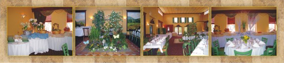 Nonna's Beautiful Tuscan Banquet Rooms are Perfect for any Event